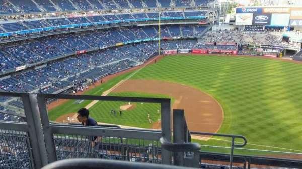 Yankee Stadium, secção: 414, fila: 7, lugar: 26