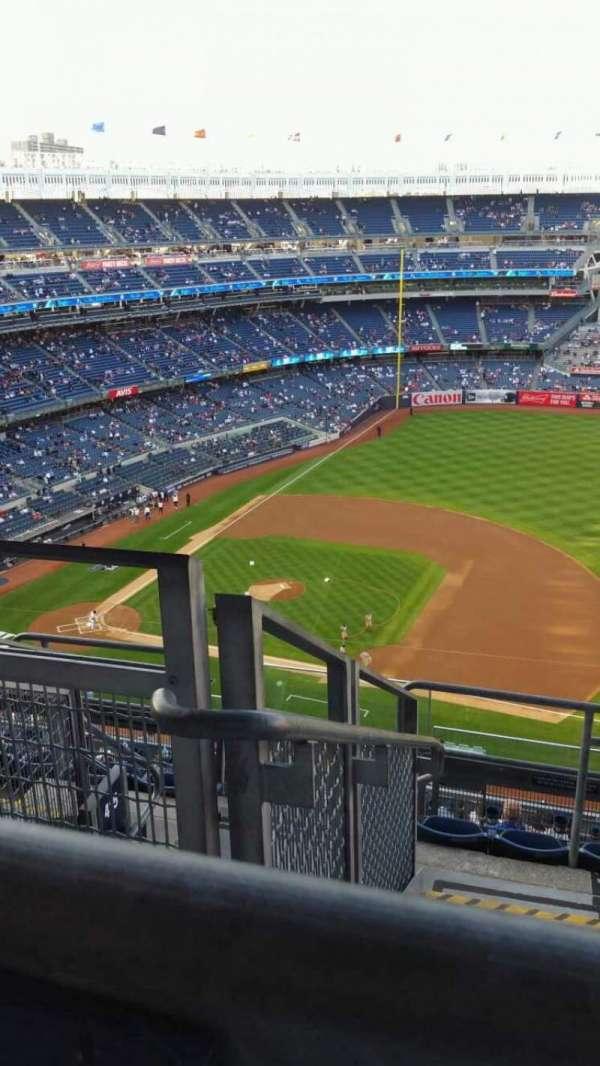 Yankee Stadium, secção: 414, fila: 7, lugar: 25