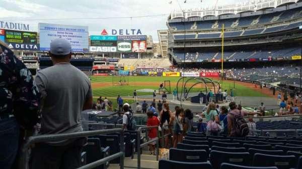 Yankee Stadium, secção: 121B, fila: 11, lugar: 8