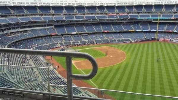 Yankee Stadium, secção: 408, fila: 3, lugar: 15