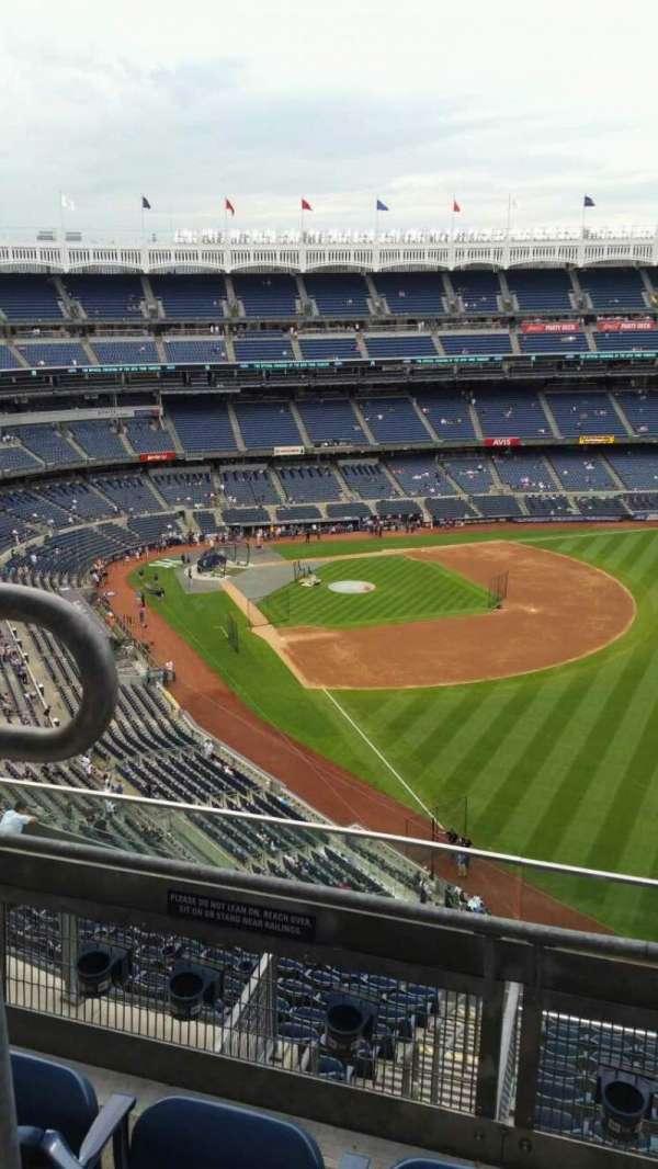 Yankee Stadium, secção: 408, fila: 3, lugar: 14