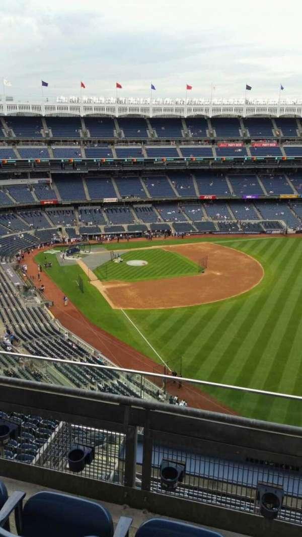 Yankee Stadium, secção: 408, fila: 3, lugar: 10