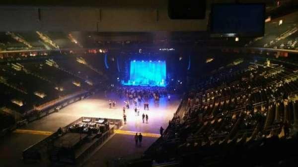 Madison Square Garden, secção: 206, fila: 5, lugar: 3