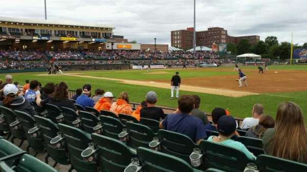 Fairfield Properties Ballpark, secção: 112, fila: G, lugar: 6