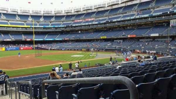 Yankee Stadium, secção: 127A, fila: 13, lugar: 1