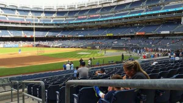 Yankee Stadium, secção: 127A, fila: 9, lugar: 1