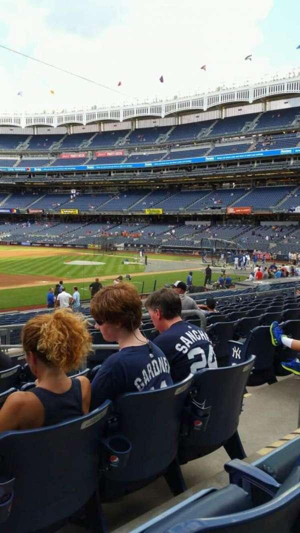 Yankee Stadium, secção: 127A, fila: 9, lugar: 5