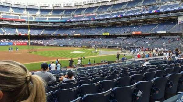 Yankee Stadium, secção: 126, fila: 8, lugar: 16