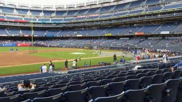 Yankee Stadium, secção: 126, fila: 8, lugar: 13