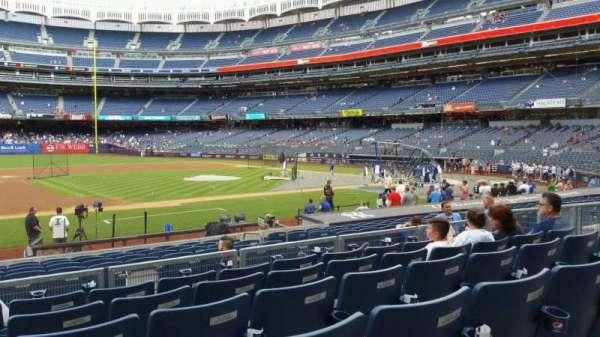 Yankee Stadium, secção: 125, fila: 6, lugar: 14