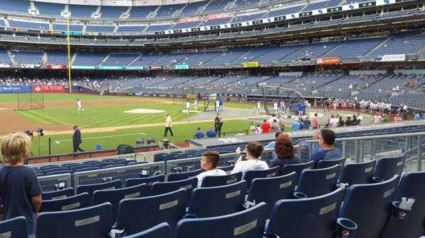 Yankee Stadium, secção: 125, fila: 6, lugar: 11