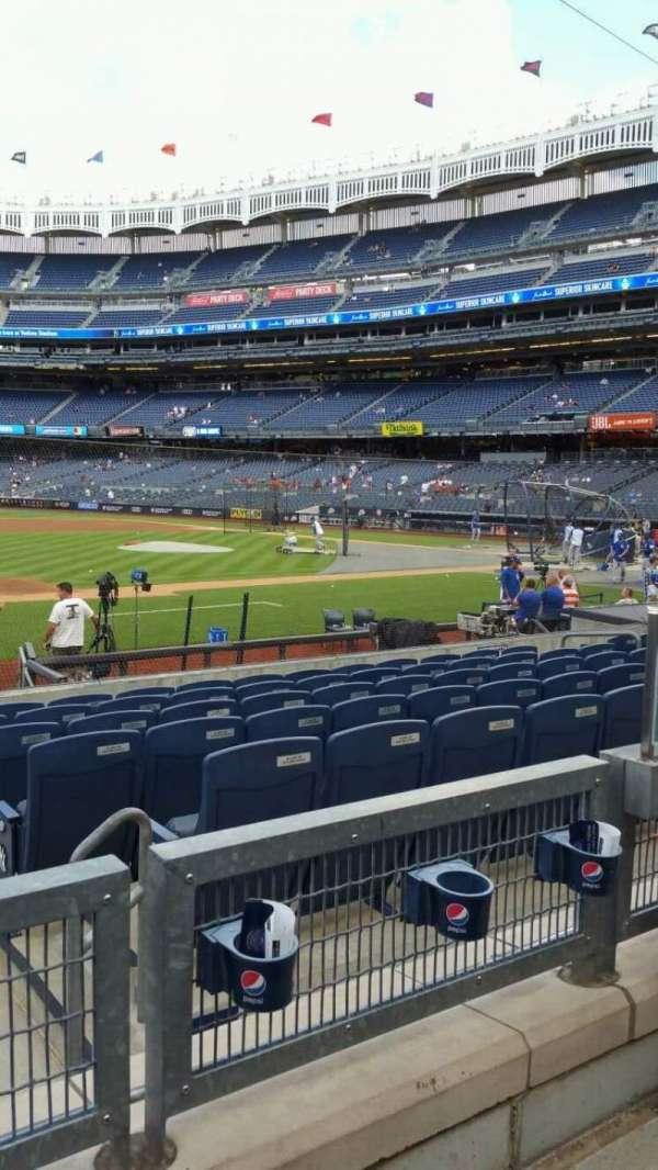 Yankee Stadium, secção: 126, fila: 2, lugar: 4