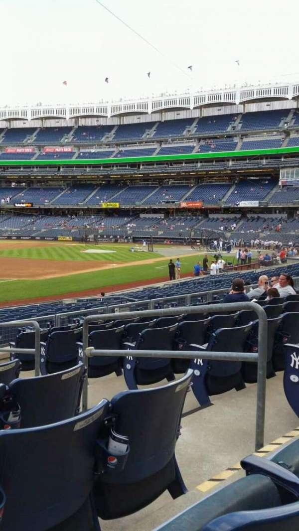 Yankee Stadium, secção: 128, fila: 8, lugar: 4