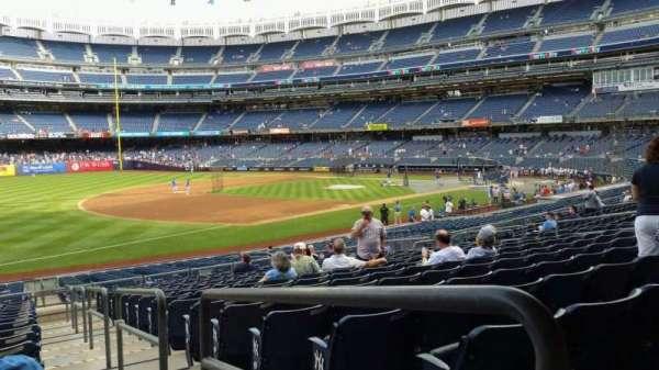 Yankee Stadium, secção: 128, fila: 16, lugar: 1