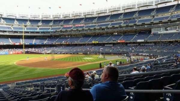 Yankee Stadium, secção: 128, fila: 16, lugar: 4