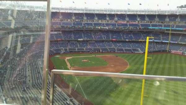 Yankee Stadium, secção: 407B, fila: 1, lugar: 20