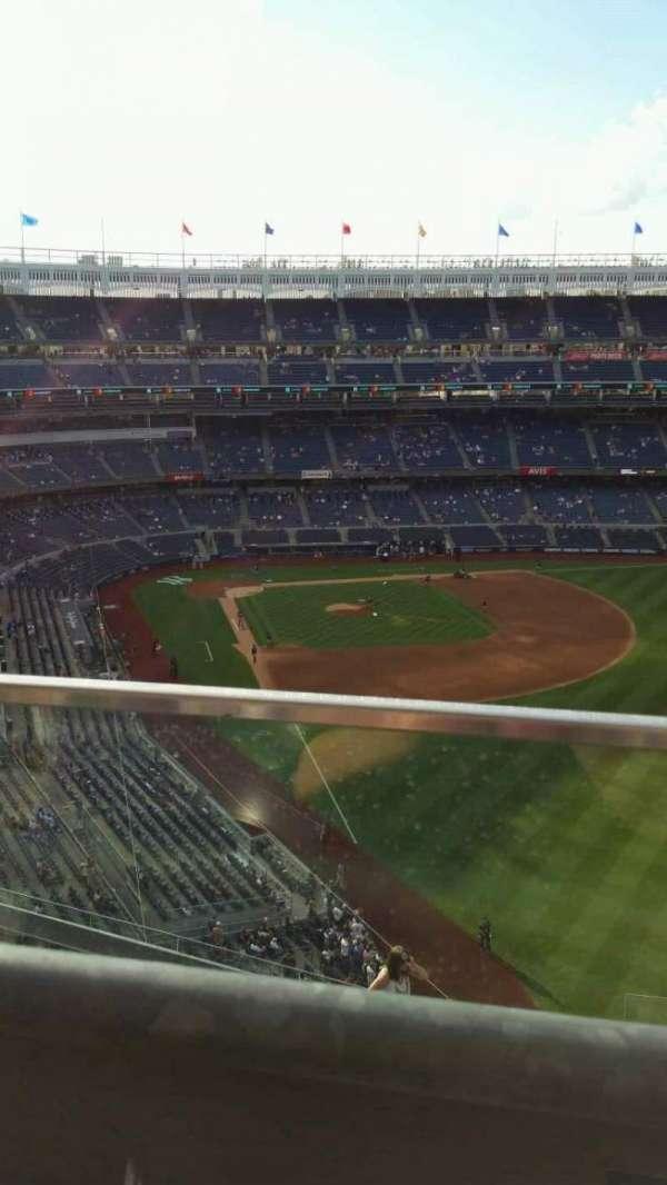 Yankee Stadium, secção: 407B, fila: 1, lugar: 19