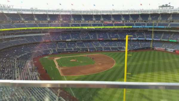 Yankee Stadium, secção: 407B, fila: 1, lugar: 18