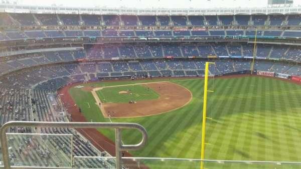 Yankee Stadium, secção: 407B, fila: 4, lugar: 16