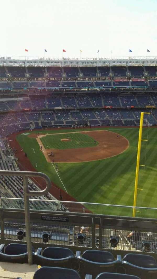 Yankee Stadium, secção: 407B, fila: 4, lugar: 15