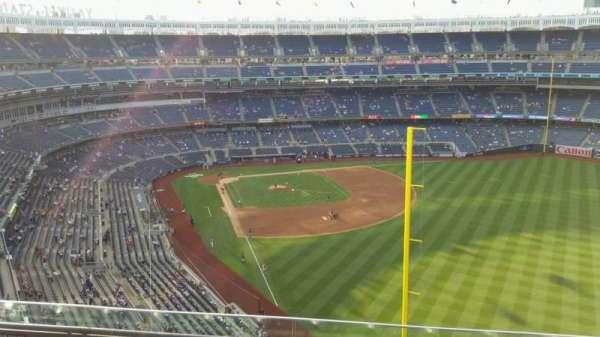 Yankee Stadium, secção: 407B, fila: 4, lugar: 11
