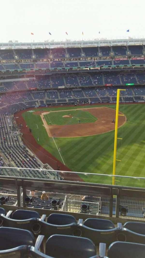 Yankee Stadium, secção: 407B, fila: 4, lugar: 9