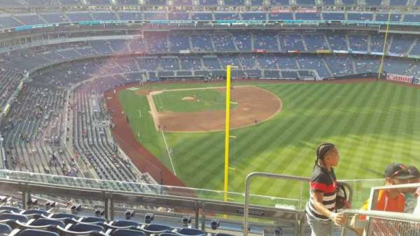 Yankee Stadium, secção: 407B, fila: 6, lugar: 1