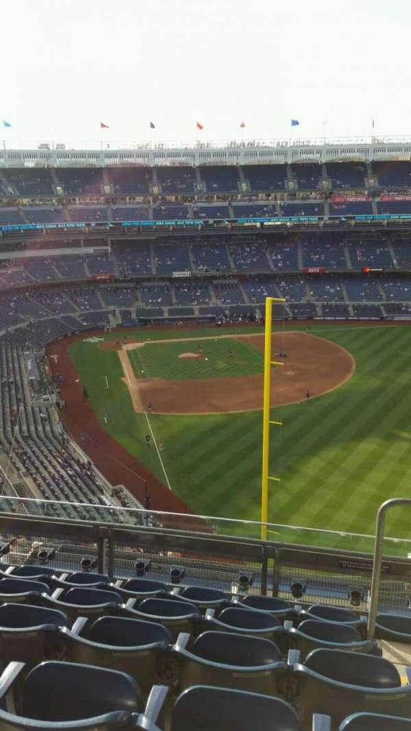 Yankee Stadium, secção: 407B, fila: 6, lugar: 2