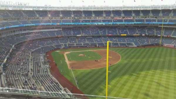 Yankee Stadium, secção: 407B, fila: 6, lugar: 6