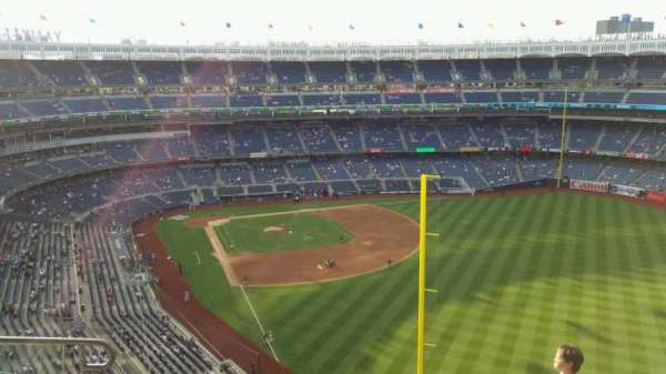 Yankee Stadium, secção: 407B, fila: 6, lugar: 13