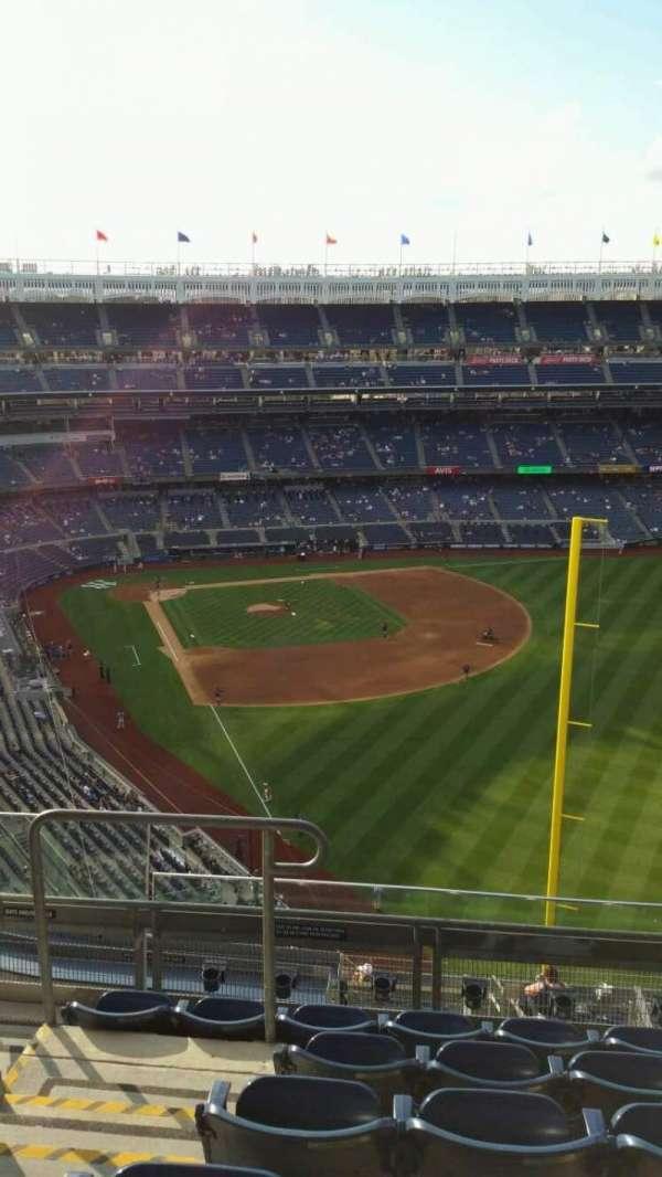 Yankee Stadium, secção: 407B, fila: 6, lugar: 16