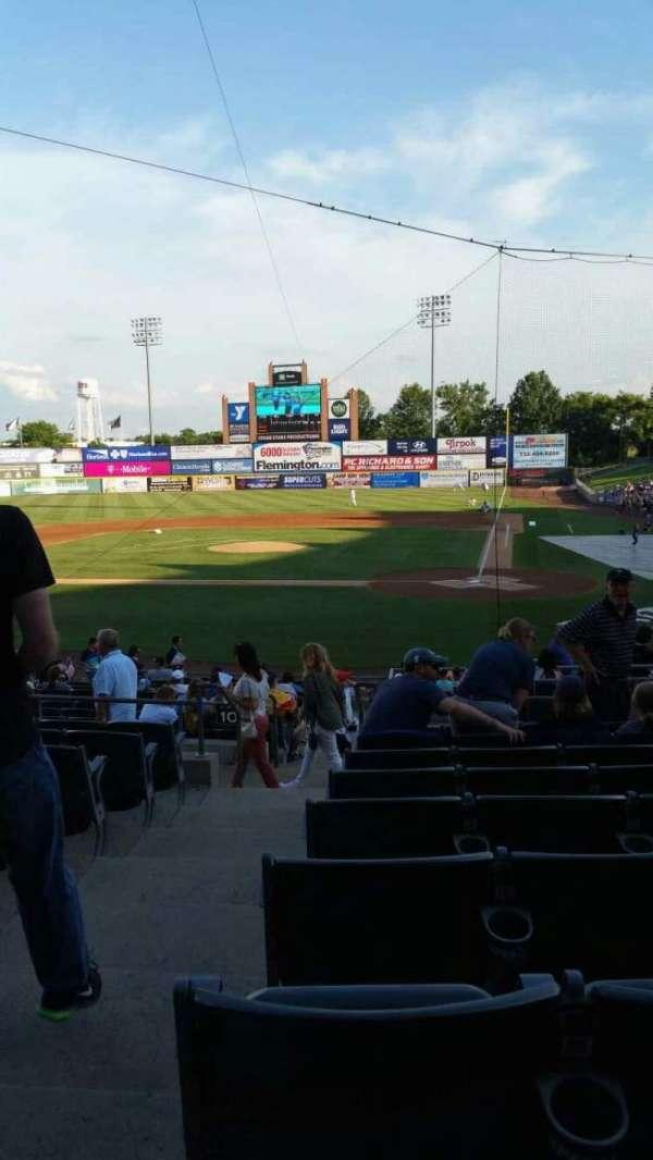 TD Bank Ballpark, secção: 206, fila: S, lugar: 16