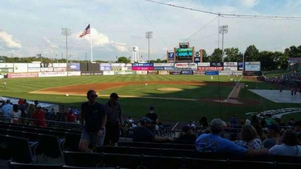 TD Bank Ballpark, secção: 206, fila: S, lugar: 13