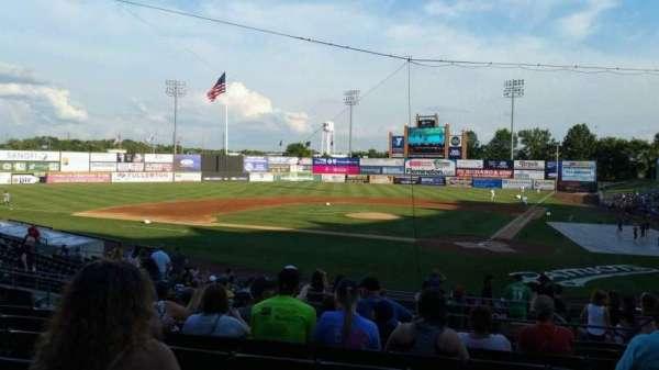 TD Bank Ballpark, secção: 206, fila: S, lugar: 7