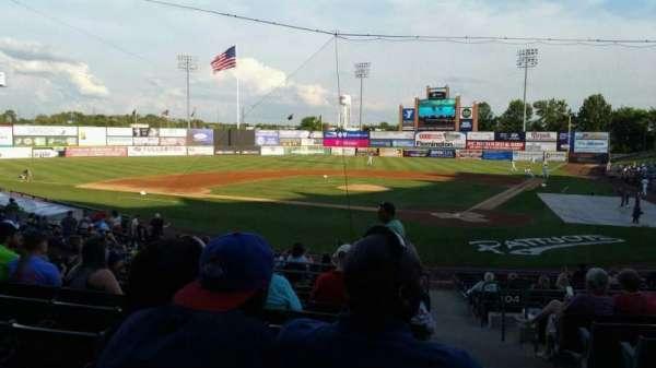 TD Bank Ballpark, secção: 206, fila: S, lugar: 1