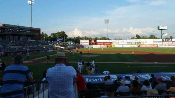 TD Bank Ballpark, secção: 211, fila: K, lugar: 18