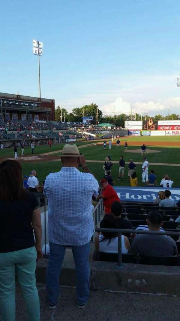 TD Bank Ballpark, secção: 211, fila: K, lugar: 17