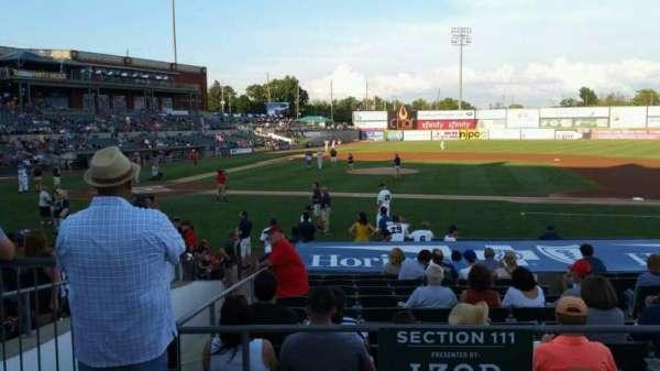 TD Bank Ballpark, secção: 211, fila: K, lugar: 16