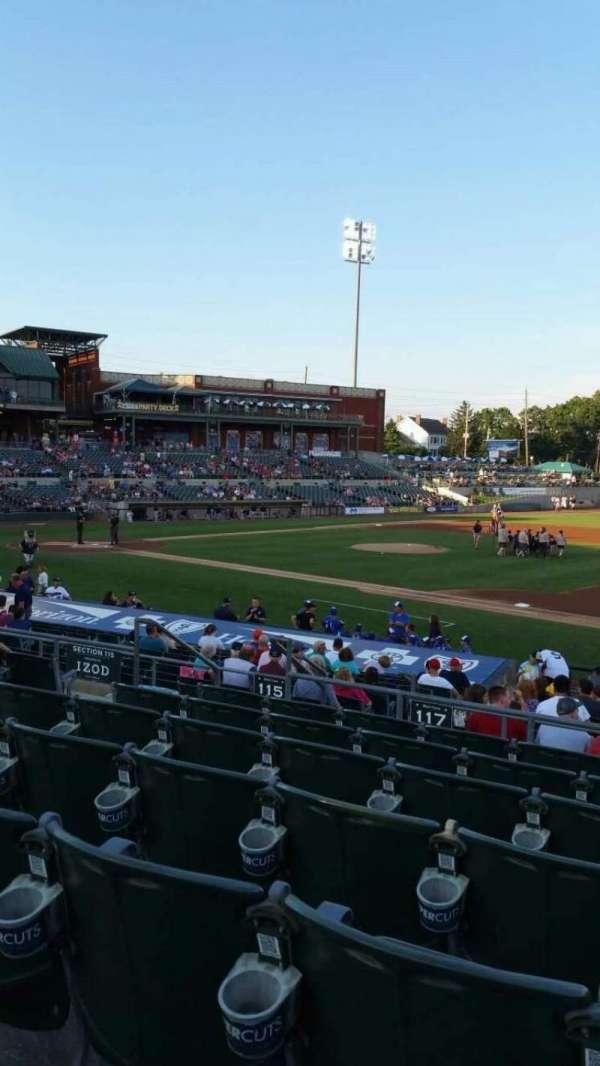 TD Bank Ballpark, secção: 215, fila: Q, lugar: 12