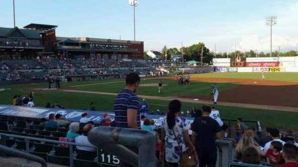 TD Bank Ballpark, secção: 215, fila: K, lugar: 18