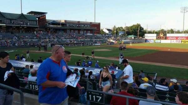 TD Bank Ballpark, secção: 215, fila: K, lugar: 15