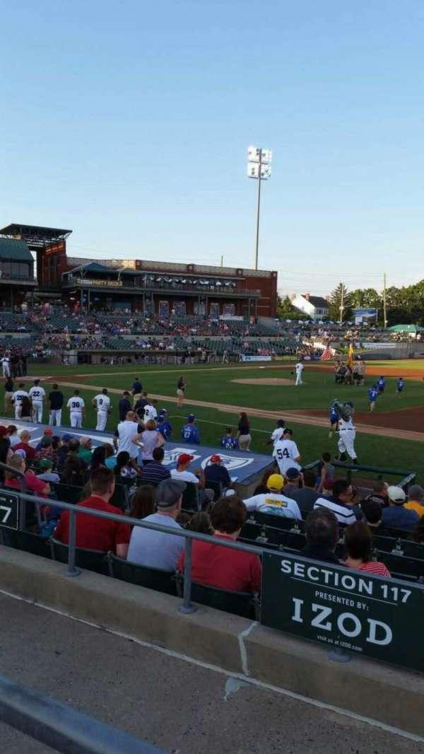 TD Bank Ballpark, secção: 215, fila: K, lugar: 11