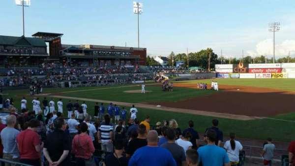 TD Bank Ballpark, secção: 215, fila: K, lugar: 6