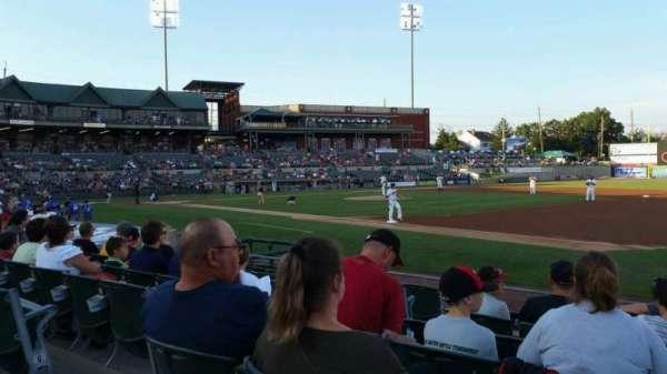 TD Bank Ballpark, secção: 119, fila: I, lugar: 7