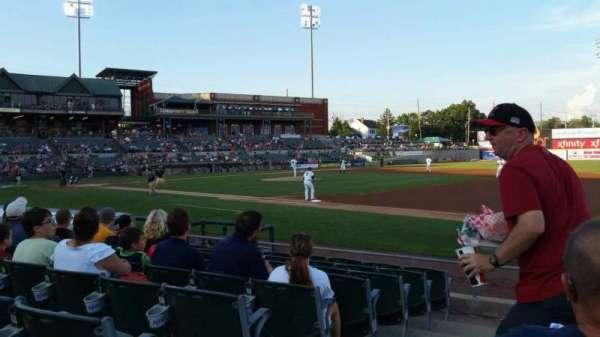 TD Bank Ballpark, secção: 119, fila: I, lugar: 10