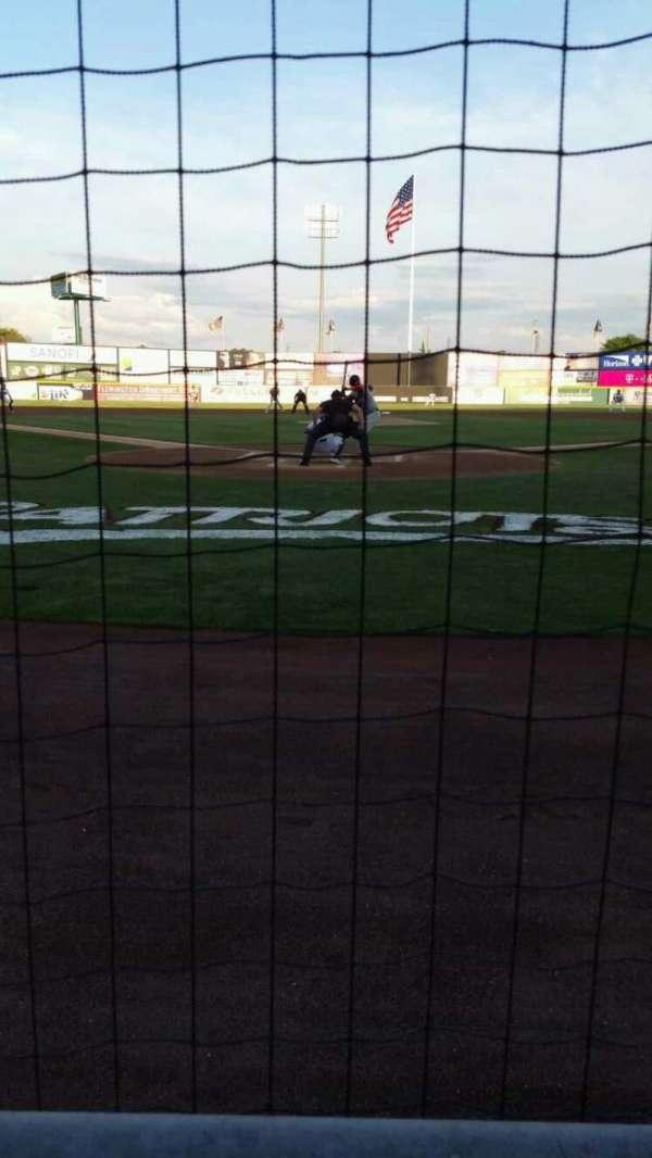TD Bank Ballpark, secção: 101, fila: A, lugar: 6