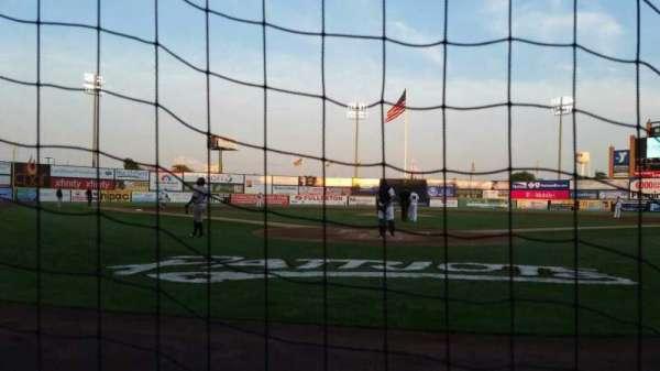 TD Bank Ballpark, secção: 101, fila: A, lugar: 8