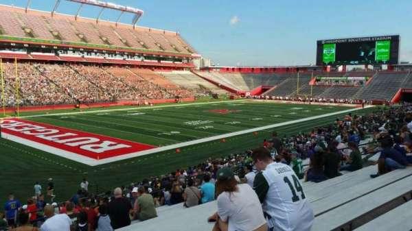 SHI Stadium, secção: 110, fila: 25, lugar: 26
