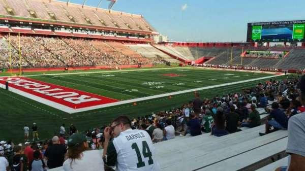 SHI Stadium, secção: 110, fila: 25, lugar: 22