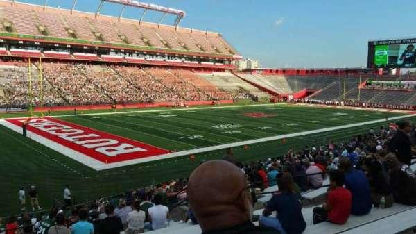 SHI Stadium, secção: 110, fila: 25, lugar: 15